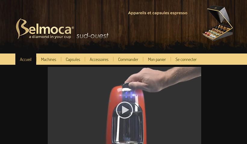 Belmoca SO - Un site réalisé et hébergé par Made in Web