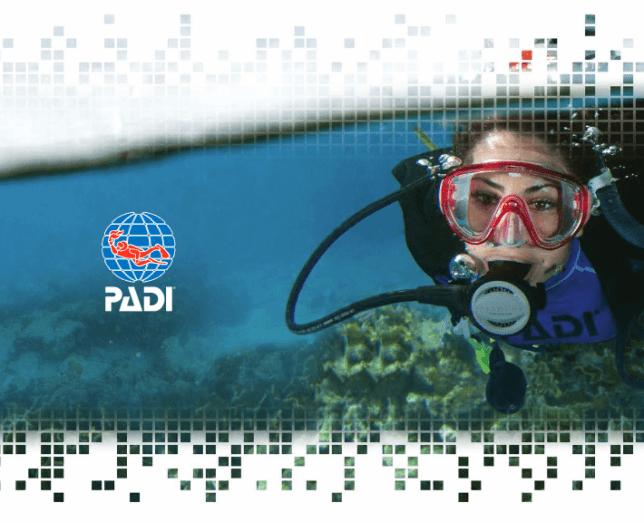PADI Open Water DIGITAL CERTIFICATION PAK Lite