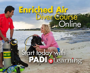 PADI Online Enriched Air Diver Course Lite