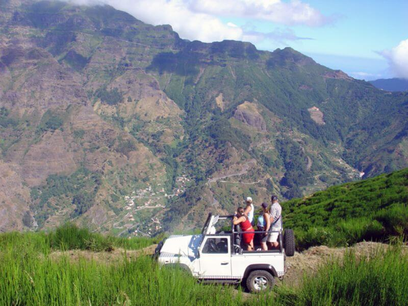 Jeep Safari to Porto Moniz Full Day