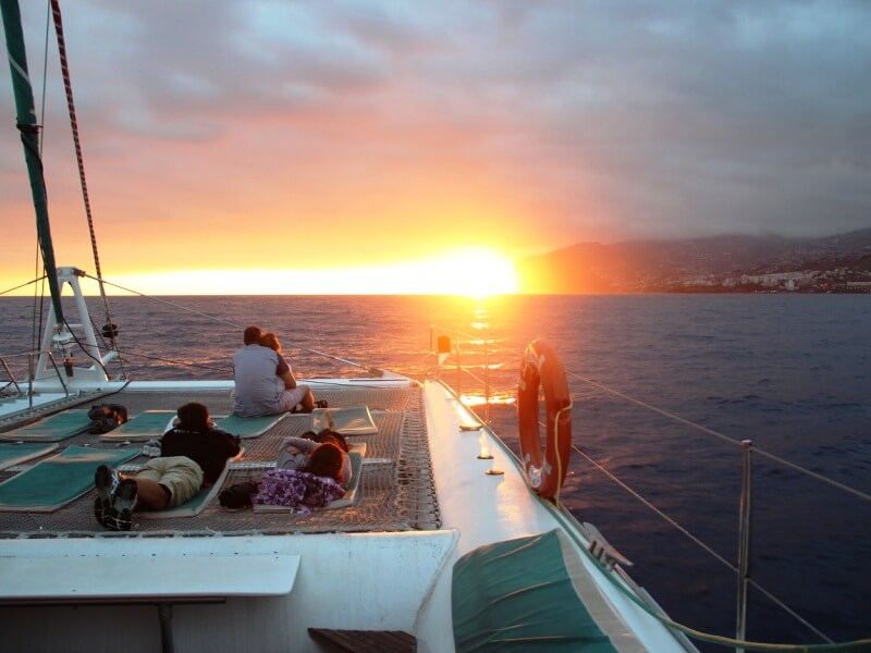 Sunset Catamaran Boat Trip in Madeira (3)