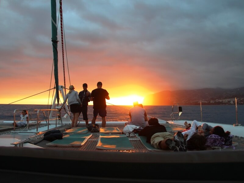 Sunset Catamaran Boat Trip in Madeira (5)