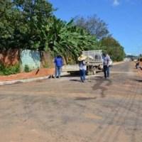 Ariquemes: Prefeitura faz a pavimentação asfáltica da Travessa Tamoios, no Setor 2