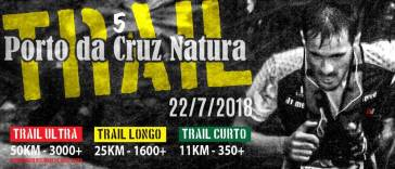 Cartaz Trail Porto da Cruz Natura 2018