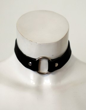 choker with o ring unisex
