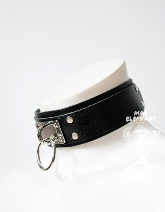 black o ring belt choker