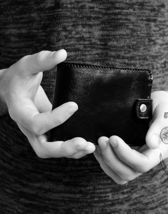 unique handmade men's wallets