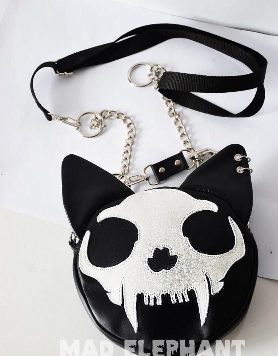 halloween cat purse