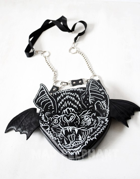 vampire bat wing bag