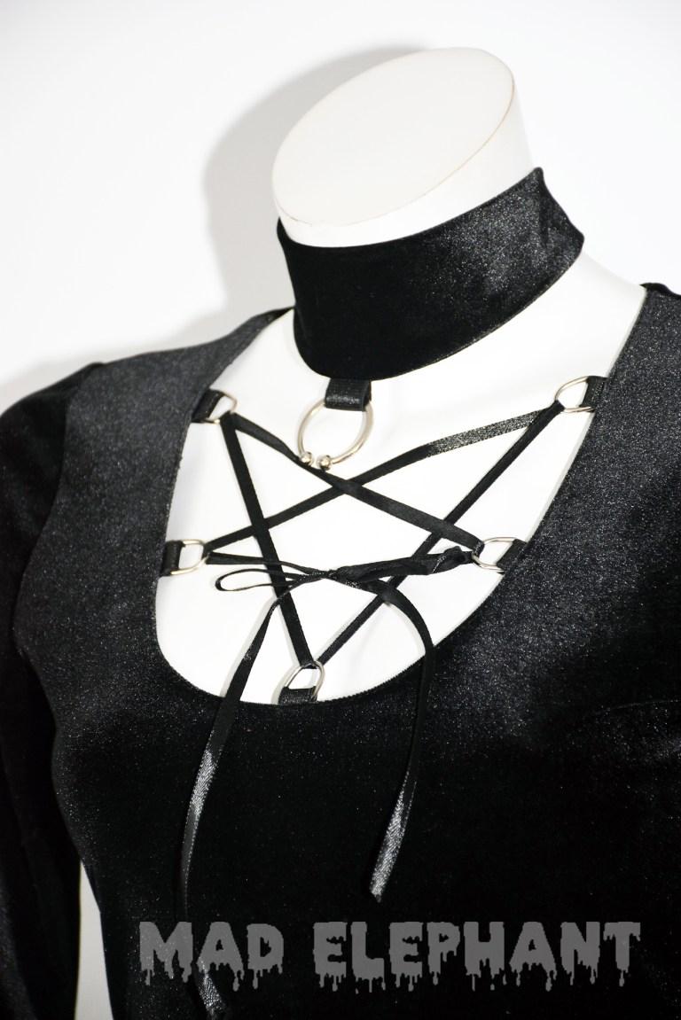 gothic dress witch