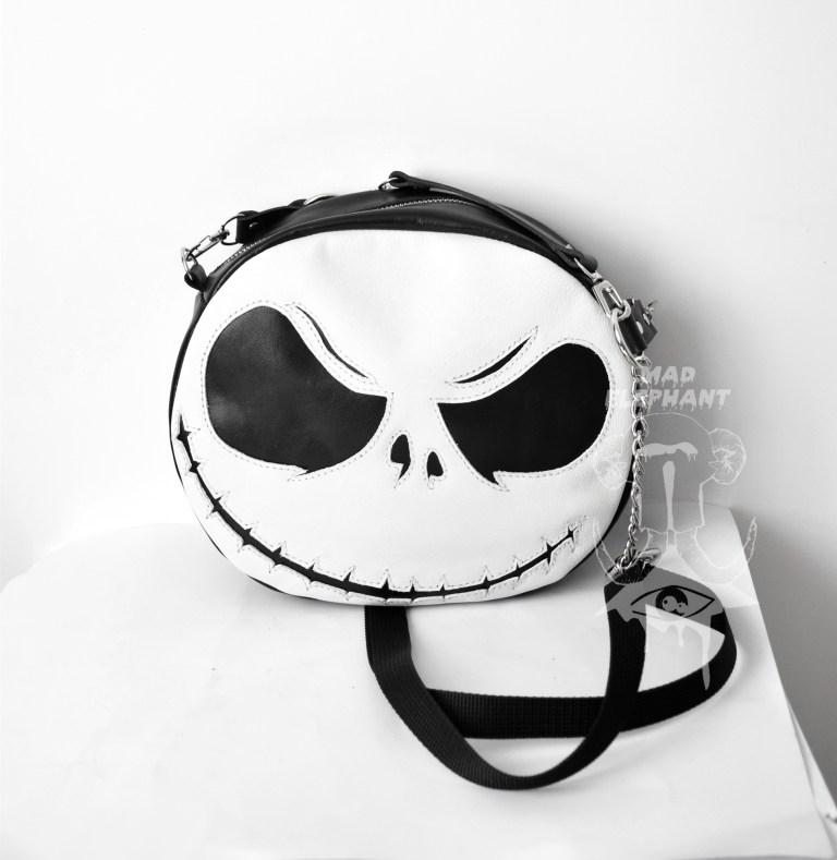 jack skellington leather bag