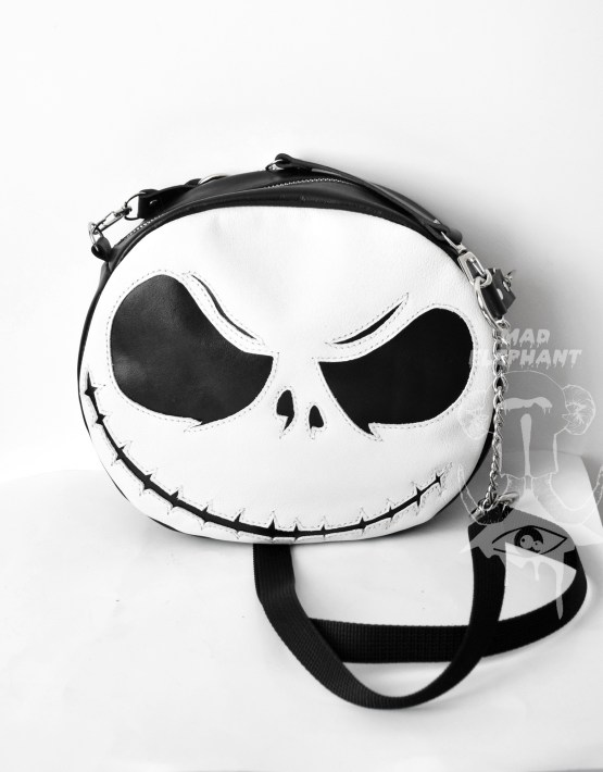 jack skellington leather bag