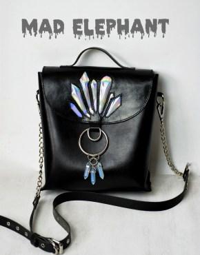 gothic crossbody bag