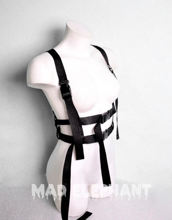 nylon chest harness