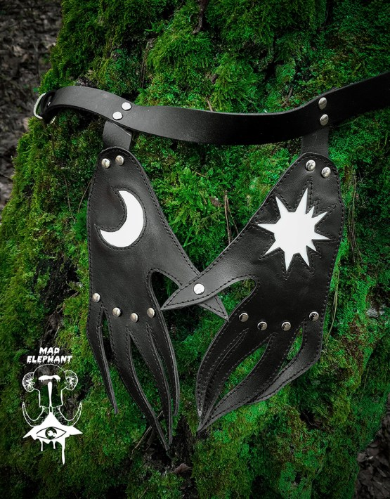witch collar black hands