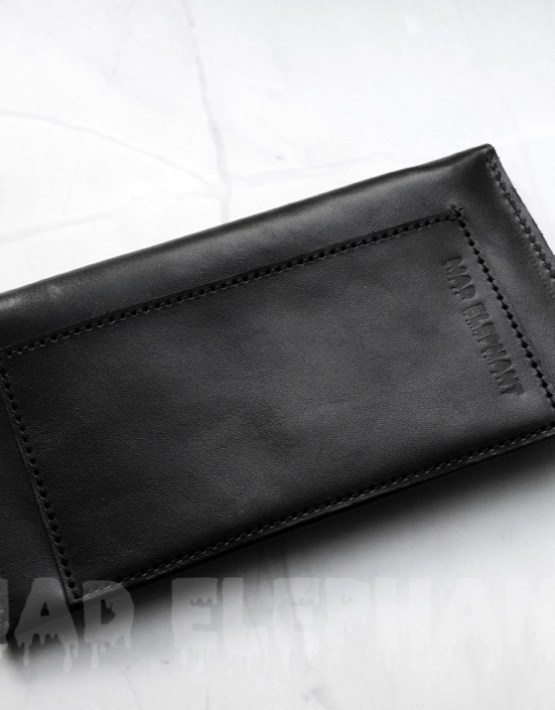 unisex gothic wallet made of genuine leather