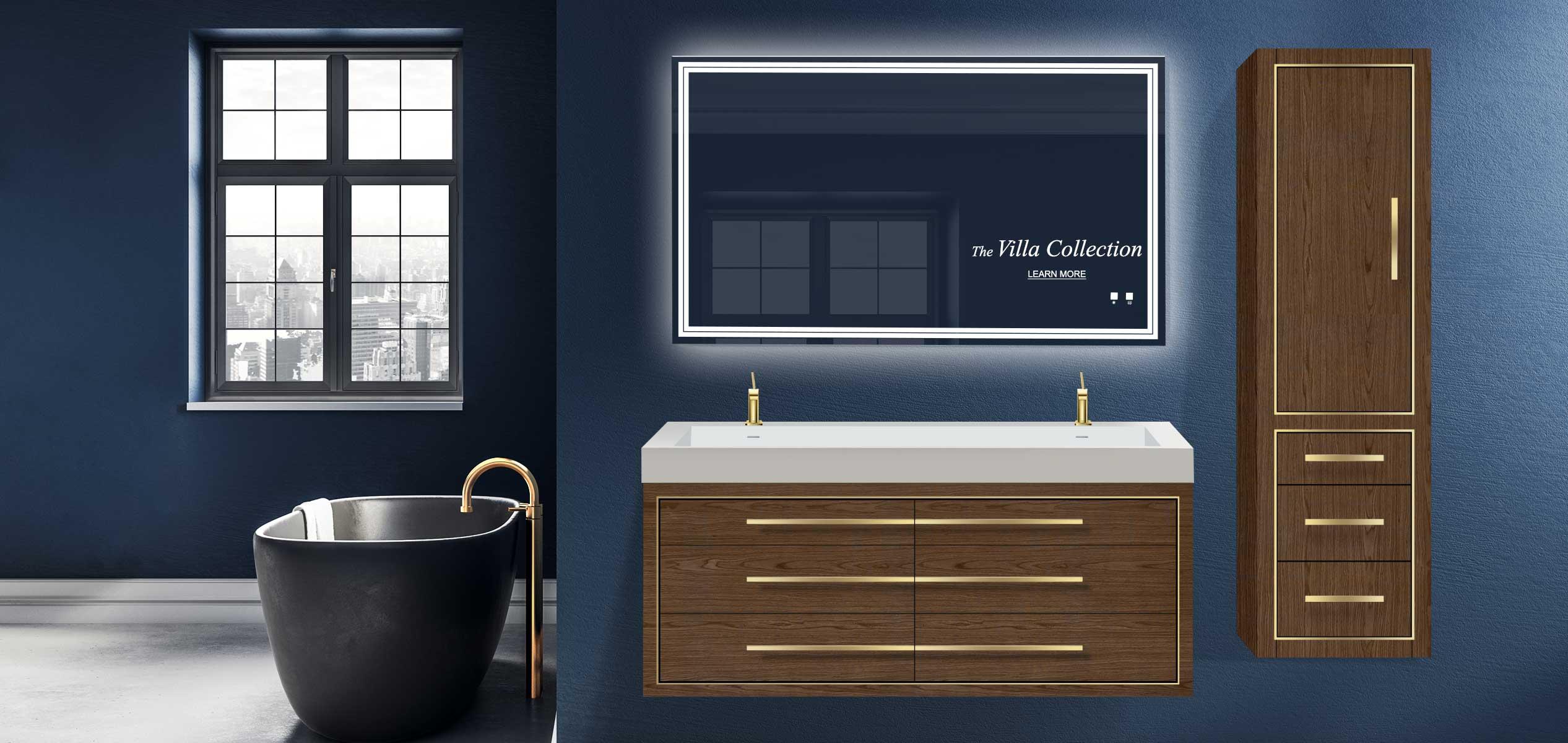 modern bathroom furniture vanities