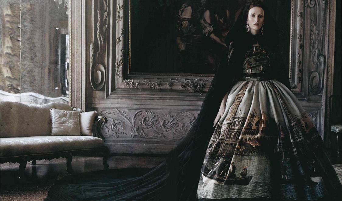 venice vogue italia haute couture
