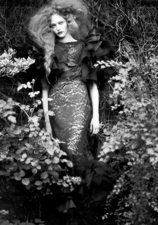 hauntingly beautiful dark couture vogue italia