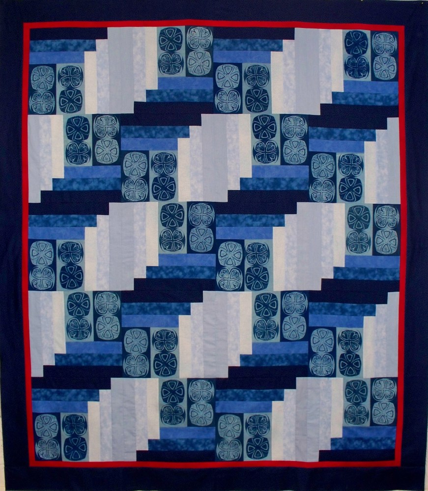 Another Top Finished and Ready to Quilt