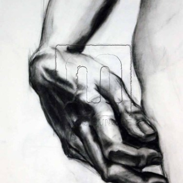 hand-charcoal