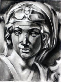 statue-charcoal