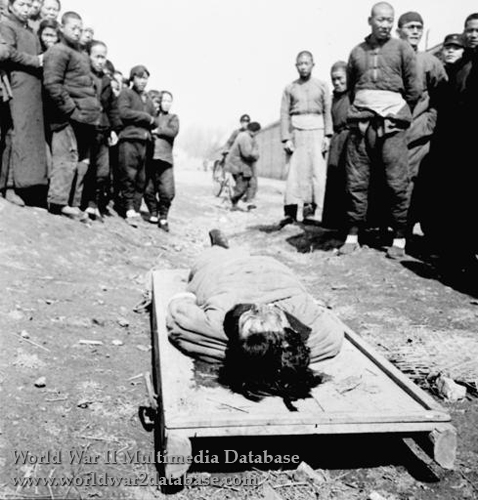 Yoshiko Kawashima (Jin Bihui) Executed as a Japanese Spy
