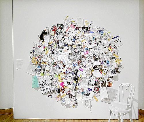 Painting to Hammer a Nail, 1961, Yoko Ono