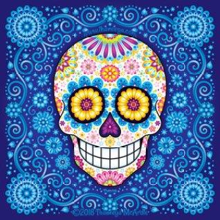 rhapsody-in-blue-sugar-skull-by-thaneeya-mcardle