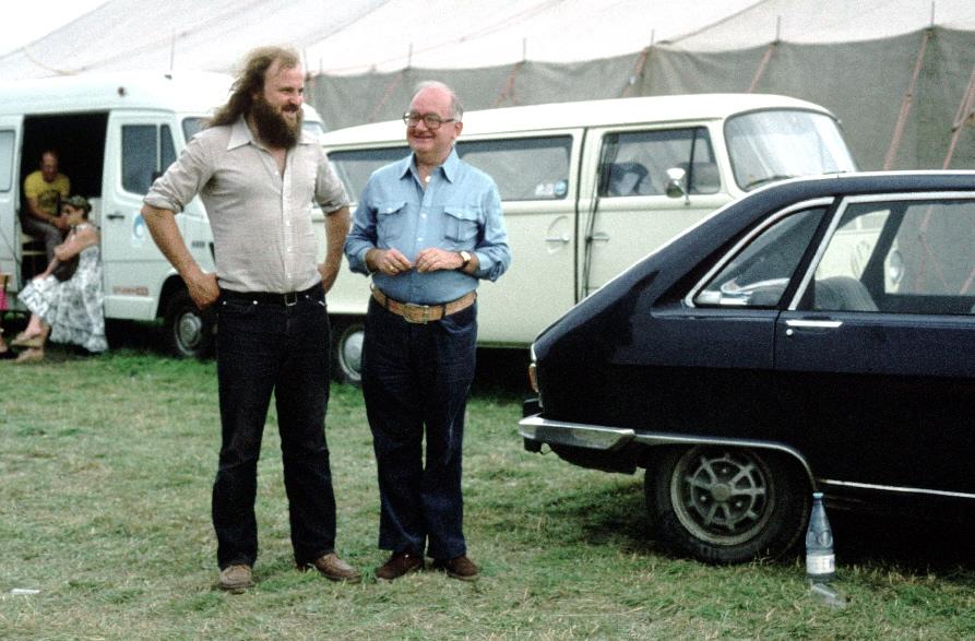 Claude Lentz et Nicolas d'Or à la création en 1979