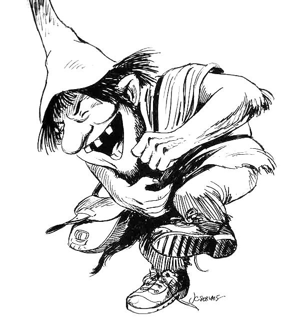 Illustration d'un Massorais - Jean-Claude Servais