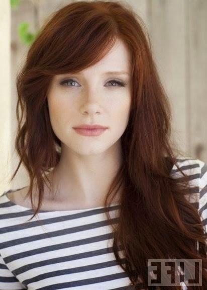 Roodbruin Haarkleur