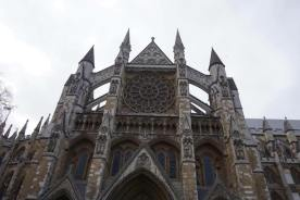 Westminster Abbey outside view
