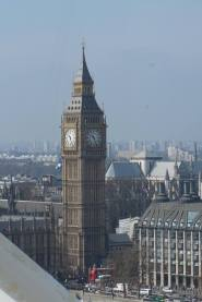 Big Ben seen from the Eye