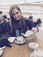 Mady at Afternoon Tea