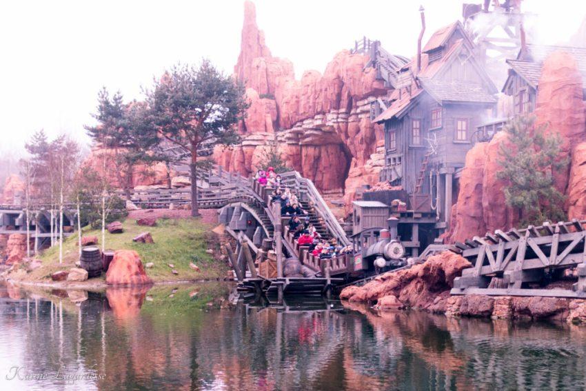 Disneyland Paris - Big thunder Mountain