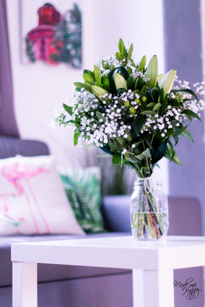 Bouquet fleurs Bloom's Janvier 2018 - Blog lifestyle Bordeaux