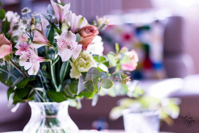 Fleurs offertes par les enfants - Blog lifestyle Bordeaux