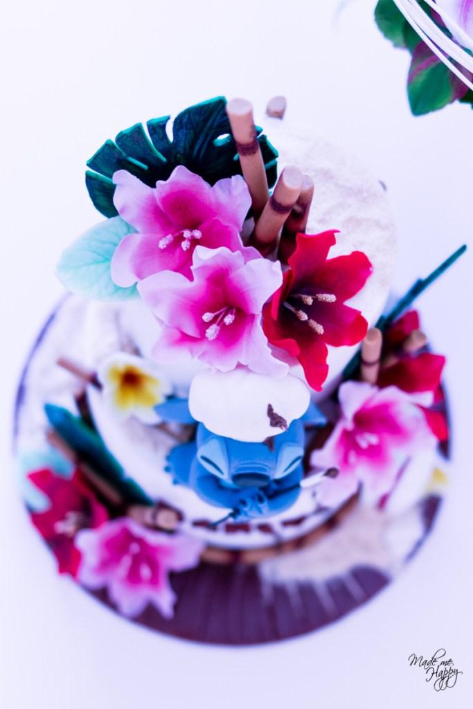 Fête anniversaire - Gâteau Stitch - Cake design Bordeaux