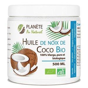 routine cheveux décolorés - huile de noix de coco