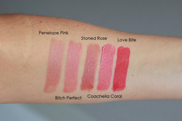 Tilbury Kissing Lipstick Swatches The Art Of Beauty