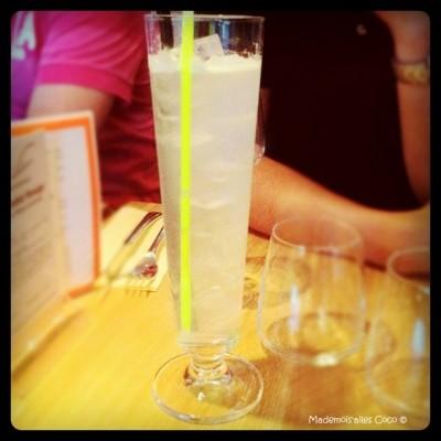 Photo d'un cocktail Gin Fizz