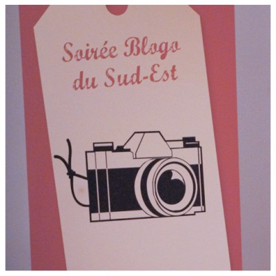 Affiche Soirée Blogo Sud Est 2
