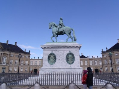 Statue du roi Frédéric V de Danemark