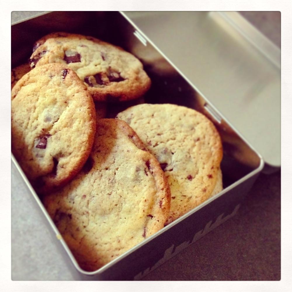 Miam miam les cookies !