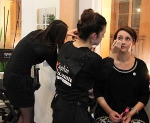 Bar à maquillage