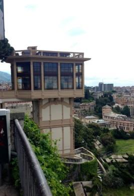 Ascenseur Art Nouveau Belvedere montaldo genes
