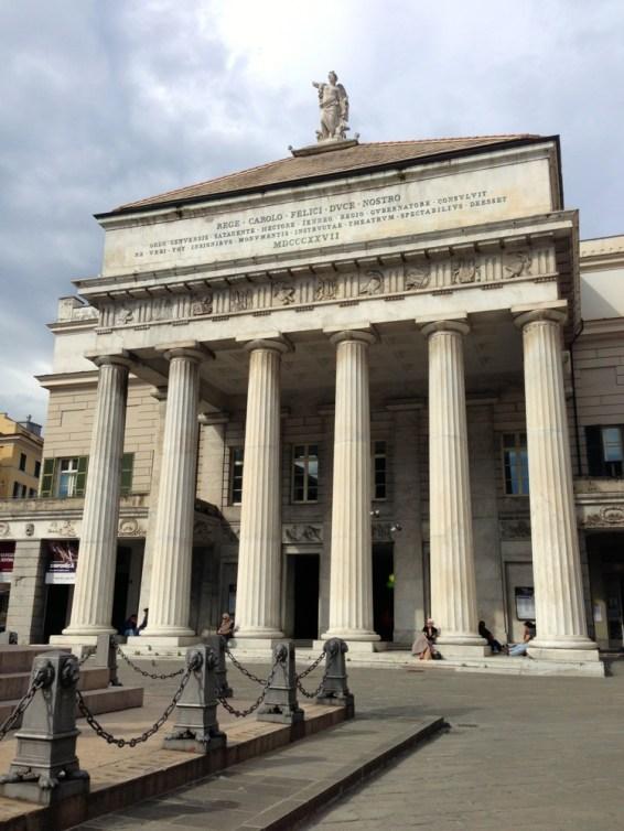 Teatro Carlo Felice Genes