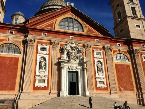 Basilique Santa Maria di Castello Genes