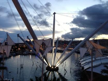 Vue sur le Port depuis Eataly